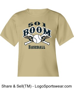 Boom Gold Youth DryCore Design Zoom