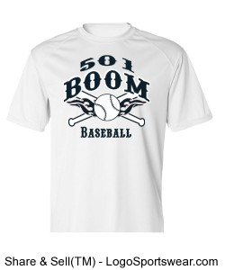Boom White Adult DryCore Design Zoom